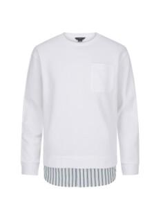 셔츠 레이어드 오버핏 맨투맨