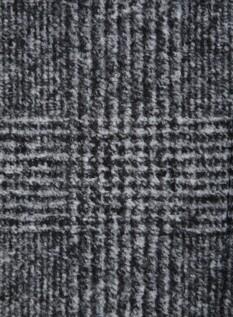 글랜체크 세미루즈핏 코트 (이태리 로마 수입 원단)