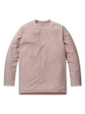 리버스테리 솔리드 라운드 티셔츠