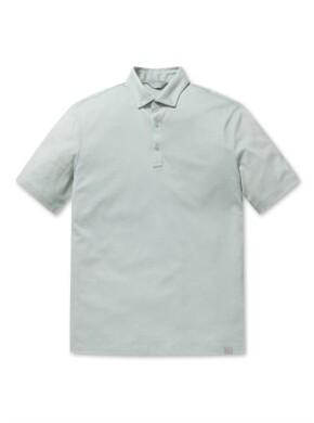 에어로쿨 버튼 다운 반팔 카라 티셔츠