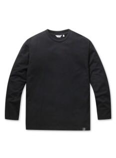 오버핏 베이직 긴팔 티셔츠