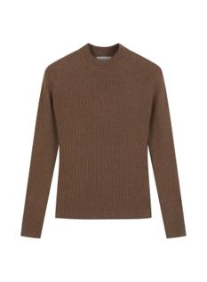 여성 골지 터틀넥 스웨터
