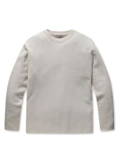 이중우수 오버핏 워셔블 스웨터