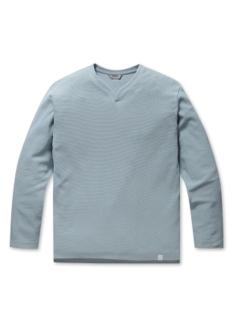 사카리바 슬릿넥 티셔츠