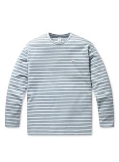 순살탱방 분또 스트라이프 티셔츠