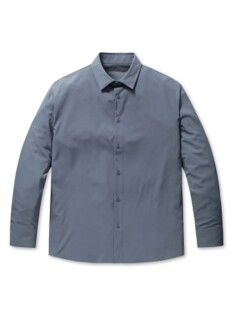 폴리 스판 세미오버핏 셔츠