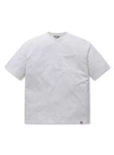 쿨텐션 라운드넥 포켓 반팔 티셔츠