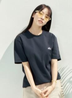 고래밥 쿨텐션 와펜 반팔 티셔츠