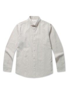 린넨 코튼 클래식 버튼다운 셔츠