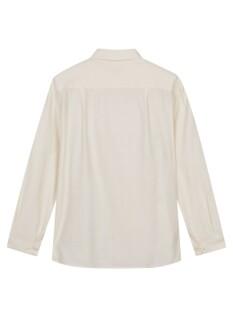 여성 세미오버핏 긴팔 셔츠