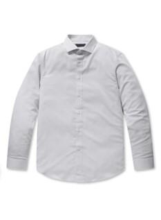 폴리 트윌 드레스 셔츠