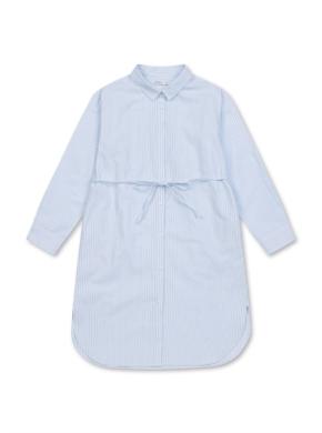여아) 옥스포드 셔츠형 드레스