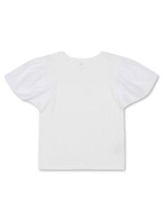 여아) 엔자임 우븐매치 티셔츠