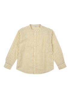 남아) 리넨코튼 긴팔셔츠
