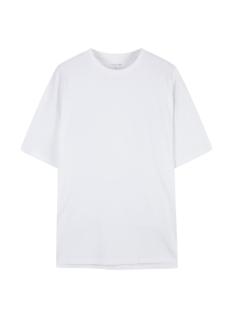 여성) 코튼 롱기장 반팔 티셔츠 (루즈핏)