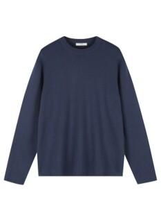 텍스쳐드 크루넥 루즈핏 스웨터