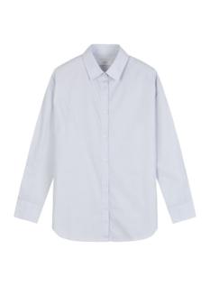 여성) 포플린 오버핏 셔츠
