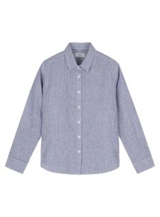 여성) 리넨 레귤러카라 셔츠