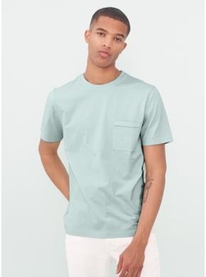 마일드 민트 포켓 반팔 티셔츠