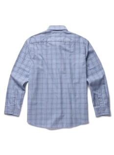 심플 체크 코튼 셔츠