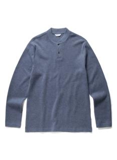 베이직 투버튼 티셔츠