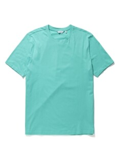베이직 컬러 라운드 반팔티셔츠
