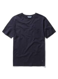 실켓 베이직 포켓 라운드 티셔츠