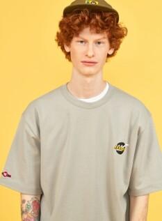 275C 콜라보 스퀘어 로고 아트웍 티셔츠