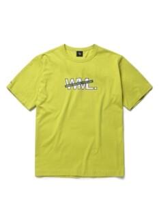 WML 라인 레이어드 로고 그래픽 티셔츠