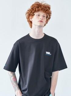 WML 풀 스퀘어 그래픽 오버 티셔츠