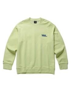 WML 레터링 그래픽 스웨트셔츠