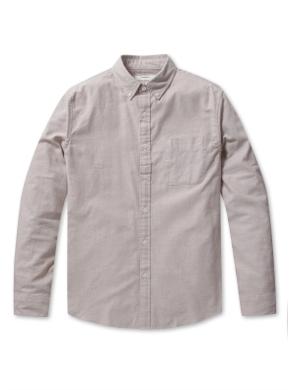 코튼 옥스퍼드 버튼다운 긴팔 셔츠