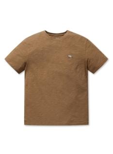 슬럽 자수 반팔  티셔츠