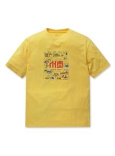 폴햄X세븐브로이 오버핏 반팔 티셔츠