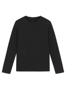솔리드 코튼 슬럽 티셔츠