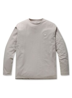 스마일 슬릿 컬러 티셔츠
