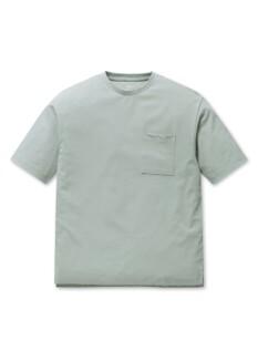 공용 쿨텐션 포켓 라운드 반팔 티셔츠