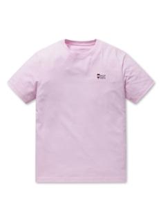 공용 오가닉 면 그래픽 반팔 티셔츠