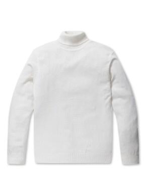 캐시미어 블랜디드 터틀넥 스웨터