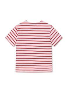 핀 스트라이프 반팔 티셔츠