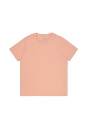 키즈 오가닉 싱글 반팔 티셔츠