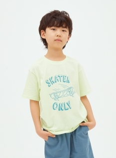 심플 그래픽 반팔 티셔츠