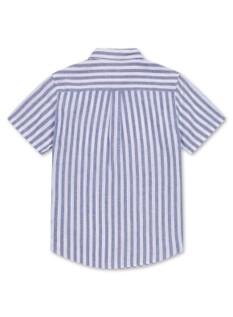 린넨 코튼 반팔 셔츠