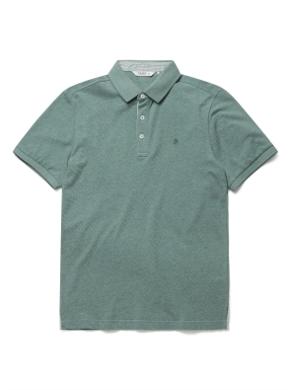 코튼 카라 반팔 티셔츠 (GN)