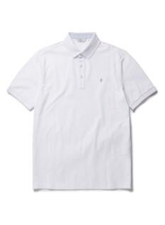 코튼 리플 카라 반팔 티셔츠 (WT)