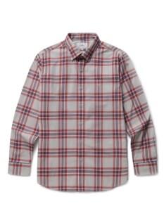 컬러 체크 컴포트핏 캐주얼셔츠
