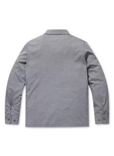 헤어 S/T 심볼 자수 카라 티셔츠 (CH)