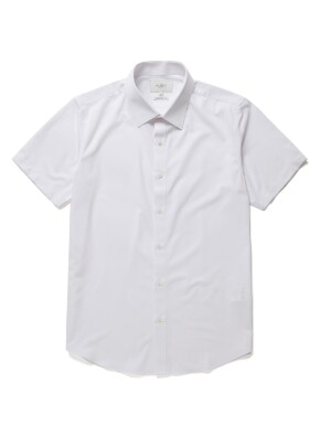 맨인 모션 반팔 드레스 셔츠